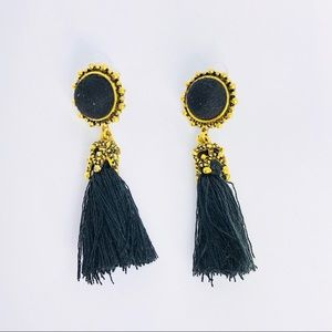 New! Vintage Bohemian Tassels Dangle Earrings Gold